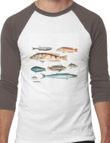 Australian Fish Men's Baseball ¾ T-Shirt