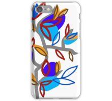 Blue Leaves  iPhone Case/Skin