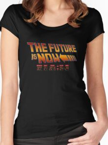 The Future is Now 2015 Women's Fitted Scoop T-Shirt