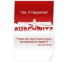 Yes, It Happened (Auschwitz) Poster