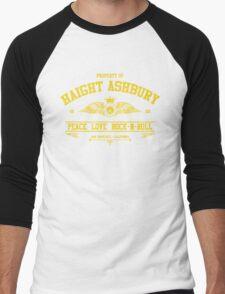 Property of Haight Ashbury - Peace-Love-Rock and Roll Men's Baseball ¾ T-Shirt