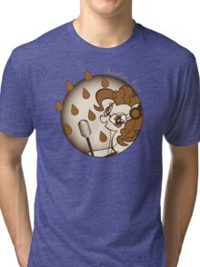 Chocolate Rain by Pinkie Pie Tri-blend T-Shirt