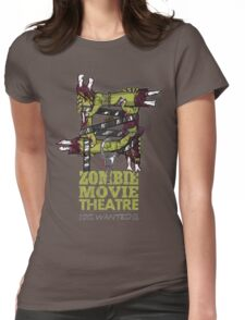 Zombie Movie Theatre (UK) Womens Fitted T-Shirt