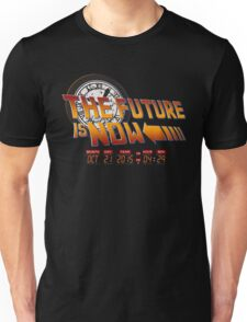 Back to The Future is Now Time Machine Unisex T-Shirt