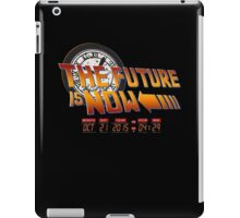 Back to The Future is Now Time Machine iPad Case/Skin