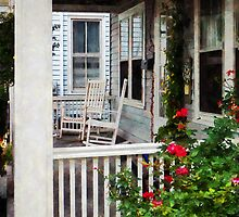 Roses and Rocking Chairs by Susan Savad