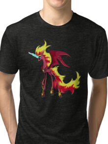 My Little Pony - MLP - Nightmare Sunset Shimmer Tri-blend T-Shirt