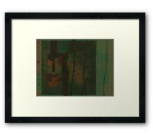 Pain: I Torture Myself Framed Print