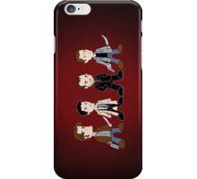 Sam, Dean, Castiel, Crowley iPhone Case/Skin