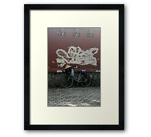 saigon bike Framed Print