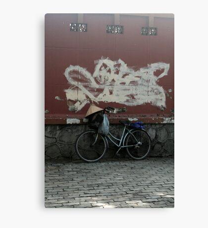 saigon bike Canvas Print