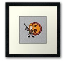 Hero of Canton Framed Print