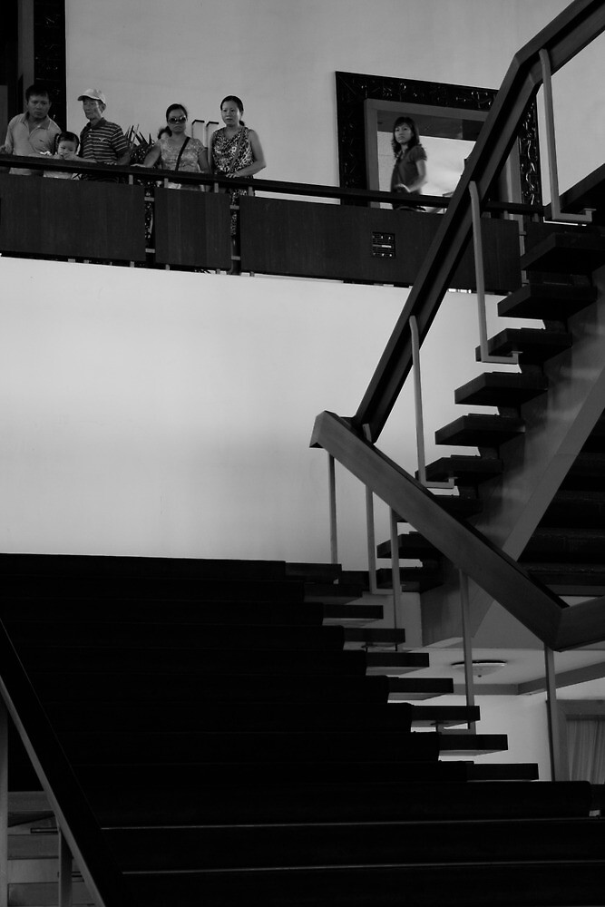 grand staircase  by Francisco Vasconcellos