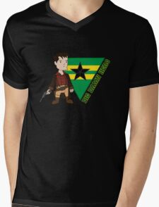 Big Damn Hero Mens V-Neck T-Shirt