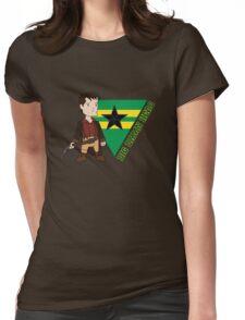Big Damn Hero Womens Fitted T-Shirt