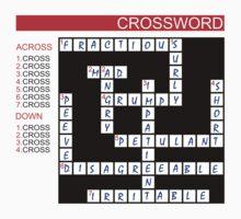 Crossword Kids Tee