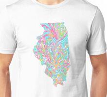 Lilly States - Illinois Unisex T-Shirt