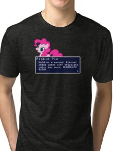 My Little Pony Pinkie Pie Quote Shirt Tri-blend T-Shirt