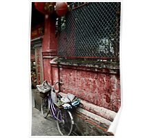 Pagoda Bicycle Poster