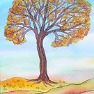Autumn Tree by Caroline  Lembke