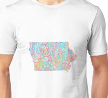 Lilly States - Iowa Unisex T-Shirt