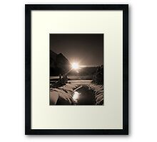 A Glorious Engagement Framed Print