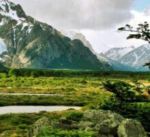 Patagonian Landscape Sticker