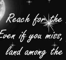 Reach for the Moon- Card Sticker