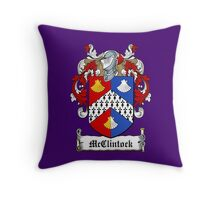 McClintock (Donegal) Throw Pillow