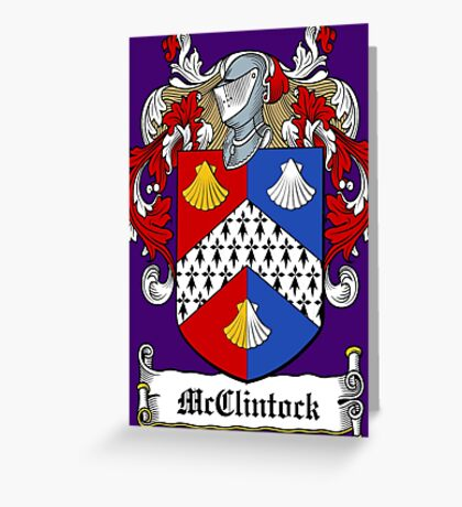 McClintock (Donegal) Greeting Card