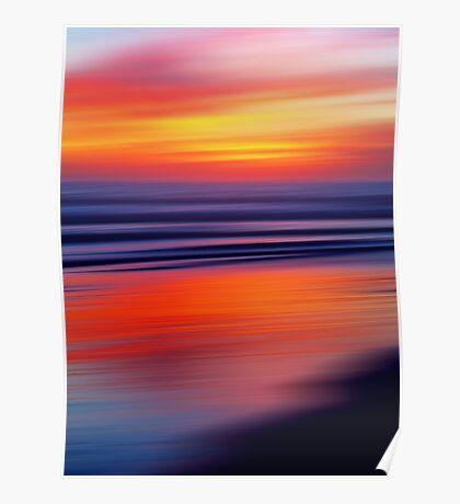 Beach a Blaze Poster
