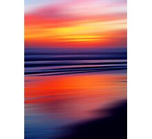 Beach a Blaze Photographic Print