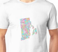 Lilly States - Rhode Island Unisex T-Shirt