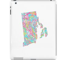 Lilly States - Rhode Island iPad Case/Skin