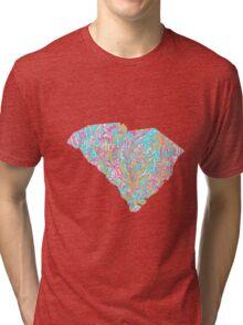 Lilly States - South Carolina Tri-blend T-Shirt