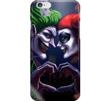 Harley Quinn And Joker  iPhone Case/Skin