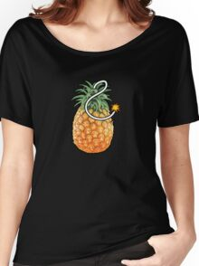 Pineapple Bomb Women's Relaxed Fit T-Shirt