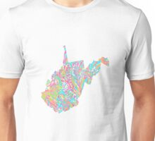 Lilly States - West Virginia Unisex T-Shirt