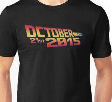 October twenty 21st 2015 Anniversary Unisex T-Shirt