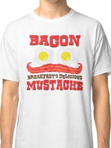 Bacon - Breakfast's Delicious Mustache Classic T-Shirt