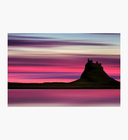 Dusk over Holy Island Photographic Print