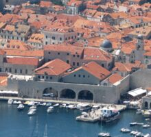 Dubrovnik Harbour Sticker