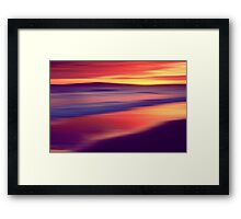 Echo Beach Framed Print