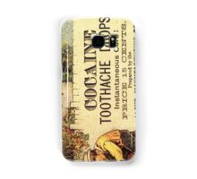 Vintage Cocaine Toothache Drops Samsung Galaxy Case/Skin