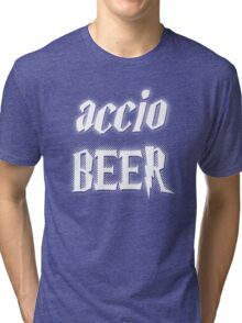 Accio Beer! Tri-blend T-Shirt