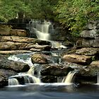 A Waterfall in Upper Swaledale by YorkshireMonkey