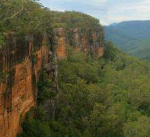 Fitzroy Falls & Kangaroo Valley pano Sticker