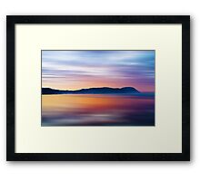 Headland Dawn Framed Print