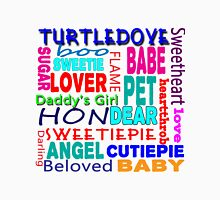 TURTLEDOVE SWEETIE PIE Women's Fitted V-Neck T-Shirt