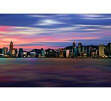 Hong Kong Morn Photographic Print